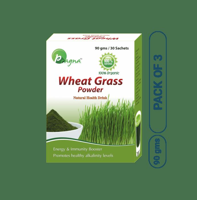 Pragna Wheat Grass Powder Pack of 3