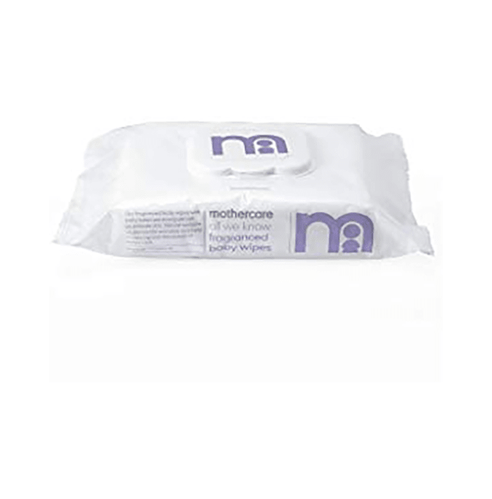 Mothercare All We Know Fragrance-Free Baby Wipes Purple Pack of 5