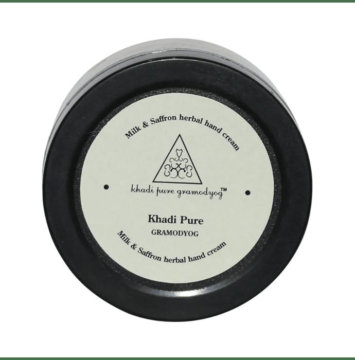 Khadi Pure Herbal Milk & Saffron Hand Cream with Sheabutter