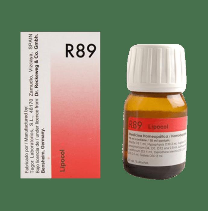 Dr. Reckeweg R89 Hair Care Drop