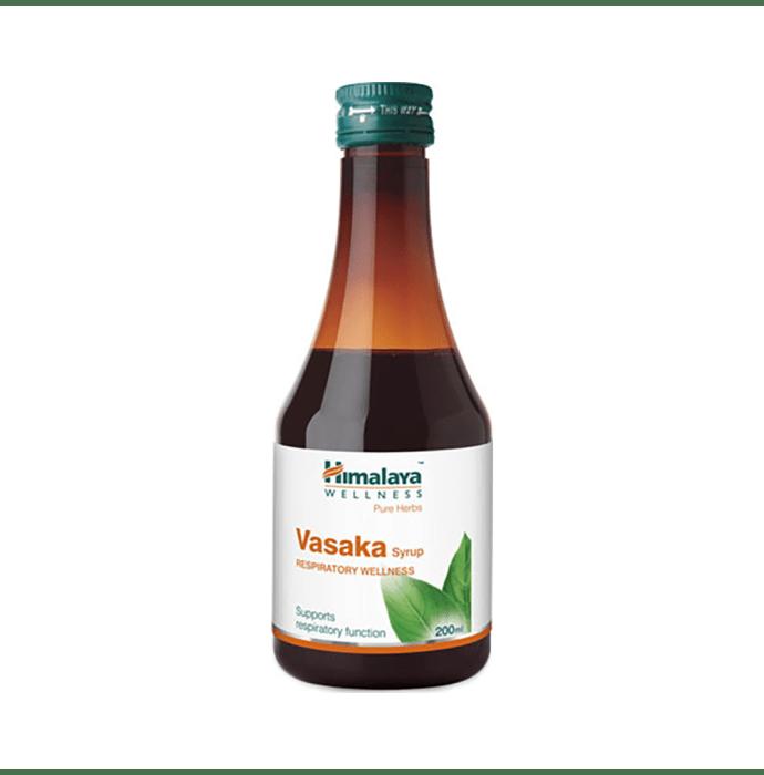 Himalaya Wellness Pure Herbs Vasaka Respiratory Wellness Syrup