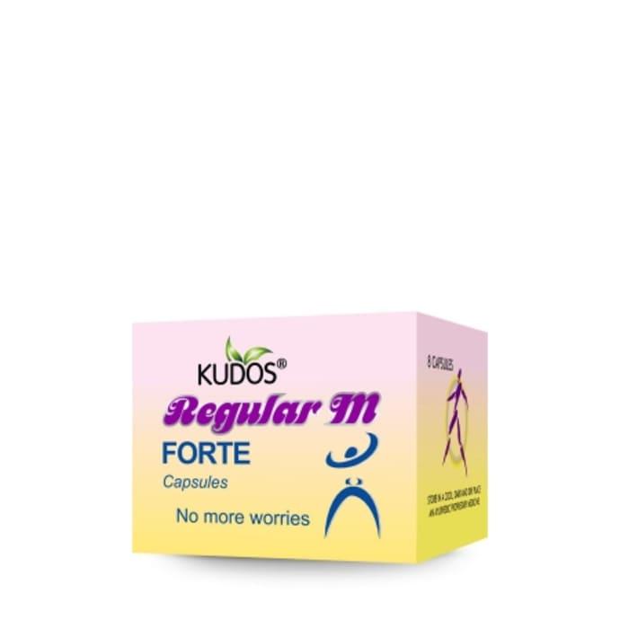 Kudos Regular M Forte Capsule