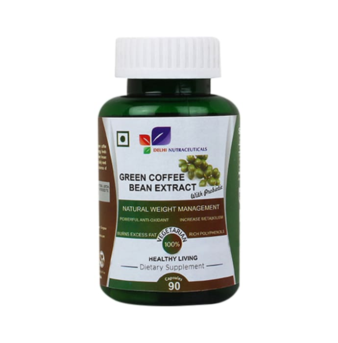 Green Coffee Bean Extract With Probiotic Capsule