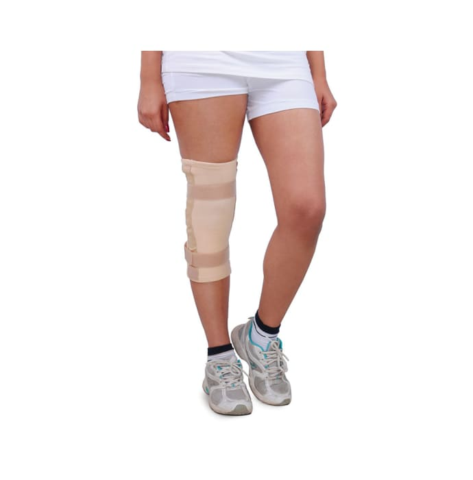Wellon Elastic Knee Support Hinged- Tubular KS-01 M