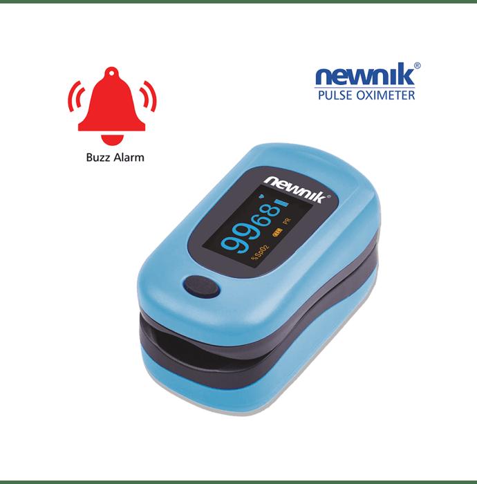 Newnik PX701 Fingertip Pulse Oximeter Light Blue
