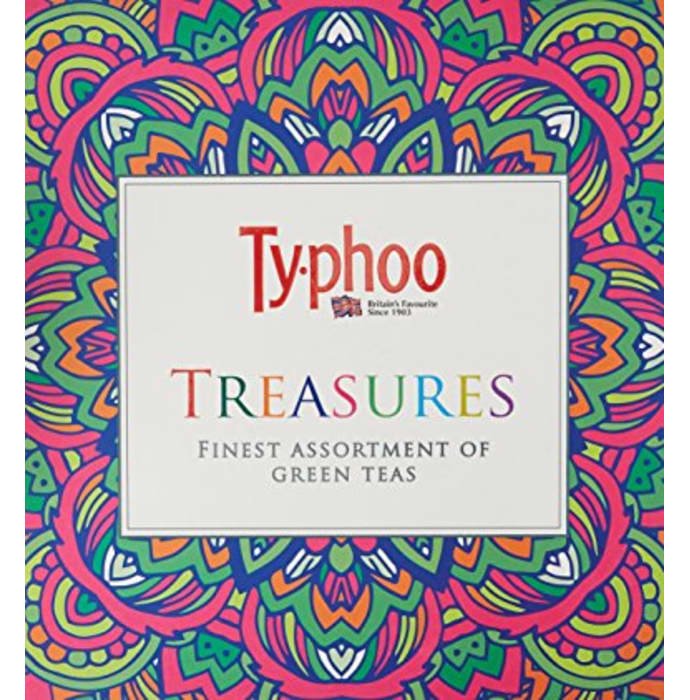 Typhoo Treasures Finest Assortment of Green Teas