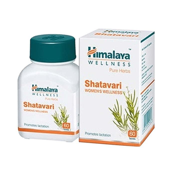 Himalaya Wellness Pure Herbs Shatavari Women's Wellness Tablet Pack of 2