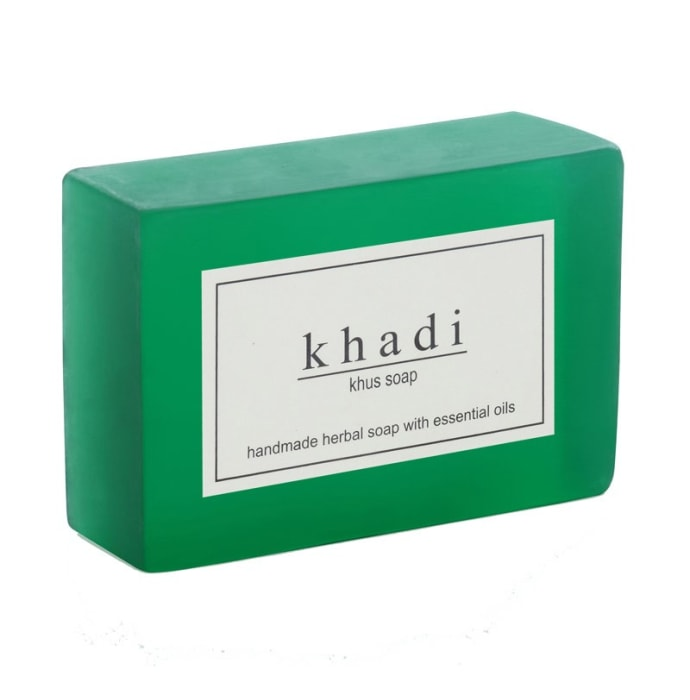 Khadi Herbal Khus Soap Pack of 2