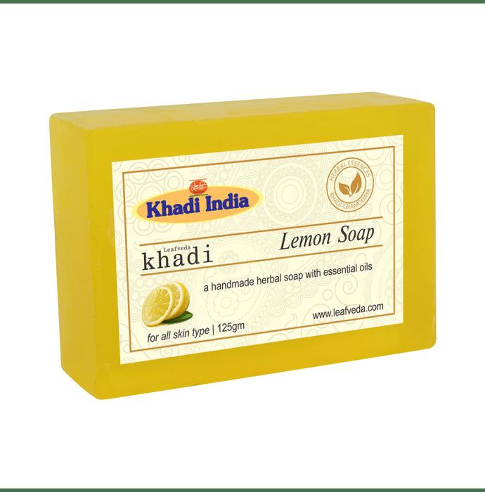 Khadi Leafveda Lemon Soap Pack of 2