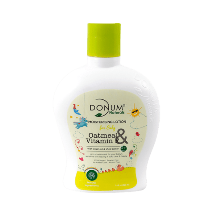 Donum Naturals Oatmeal & Vitamin F Moisturising Lotion For Baby