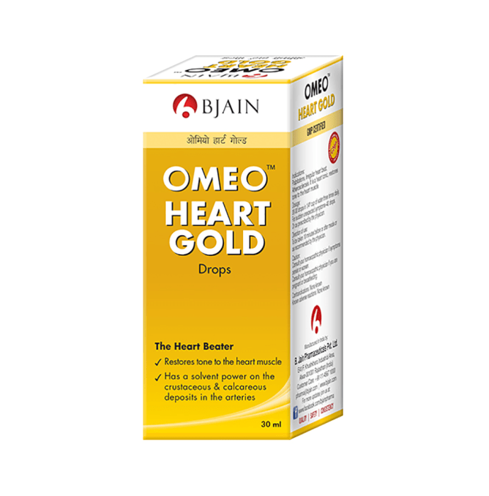 Bjain Omeo Heart Gold Drop