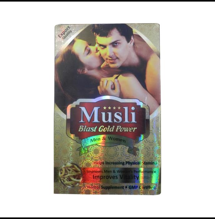 Dr Chopra Musli Blast Gold Power Capsule