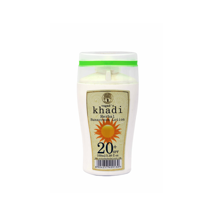 Vagad's Khadi Ayurvedic Herbal Sunscreen Lotion SPF 20