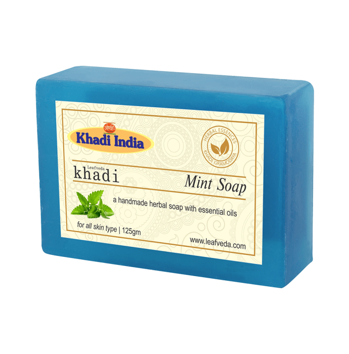 Khadi Leafveda Mint Soap Pack of 2