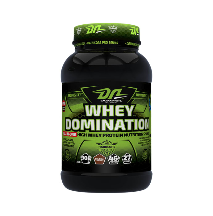 DOMIN8R Whey Domination Powder Chocolate
