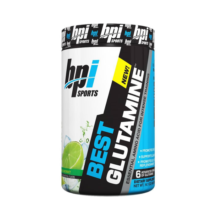 BPI Sports Best Glutamine Powder Lime Sherbet