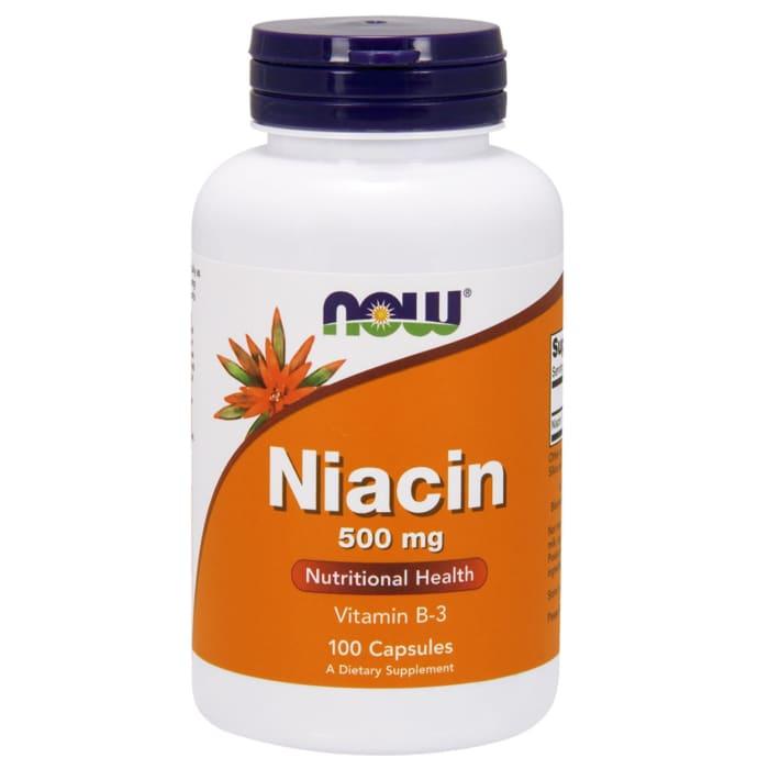 NOW Foods Niacin 500mg Capsule