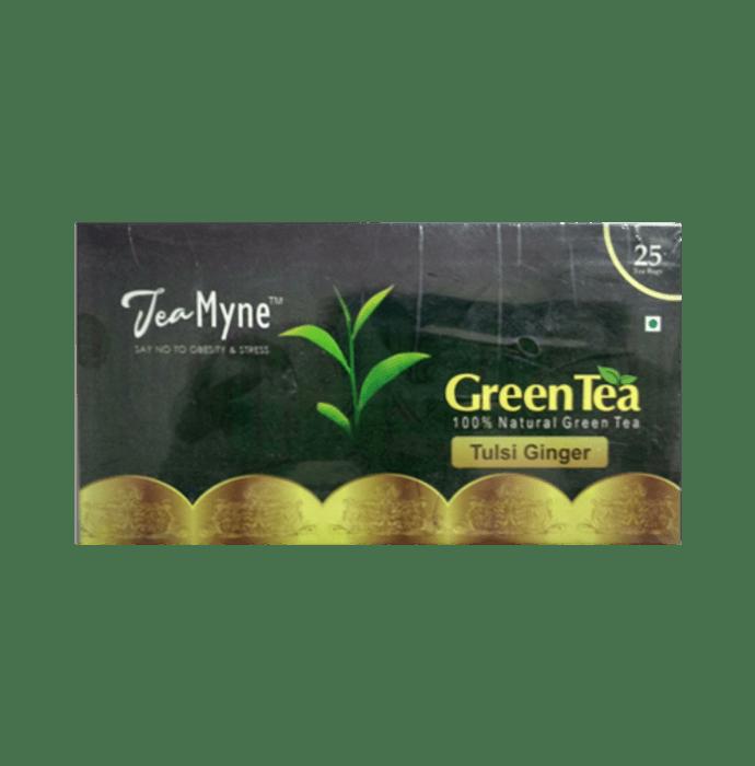 Teamyne Tulsi Ginger Green Tea 2gm