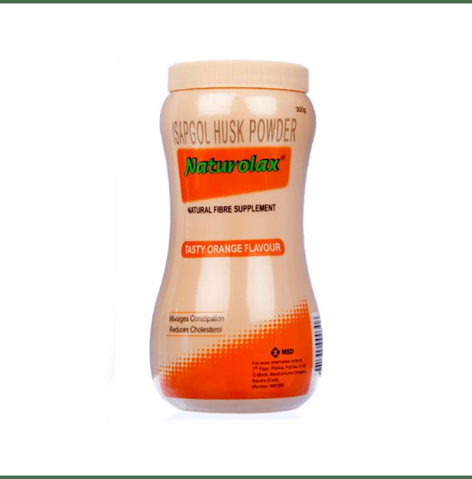 Naturolax Isapgol Husk Powder - Natural Fibre Supplement Orange
