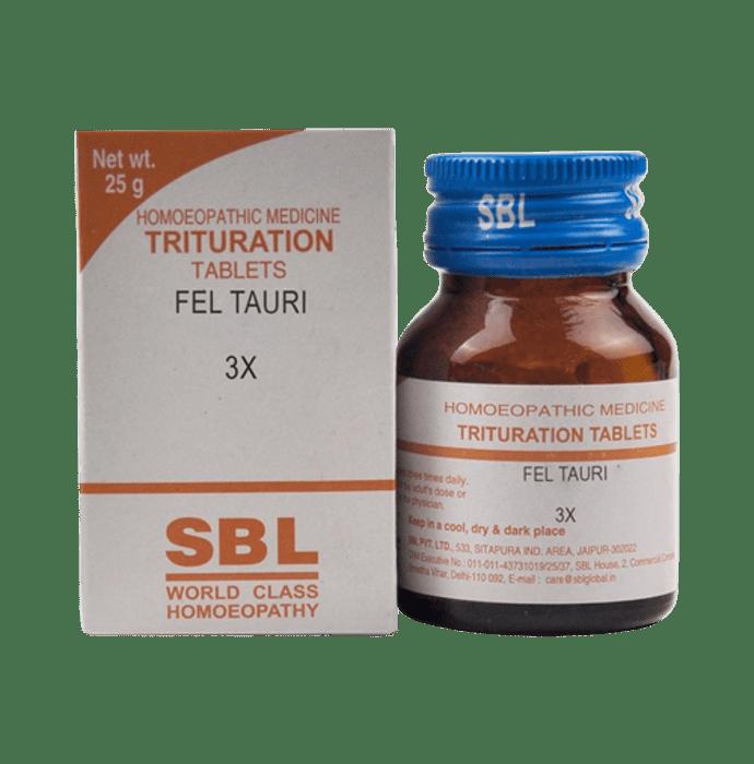 SBL Fel Tauri Trituration Tablet 3X