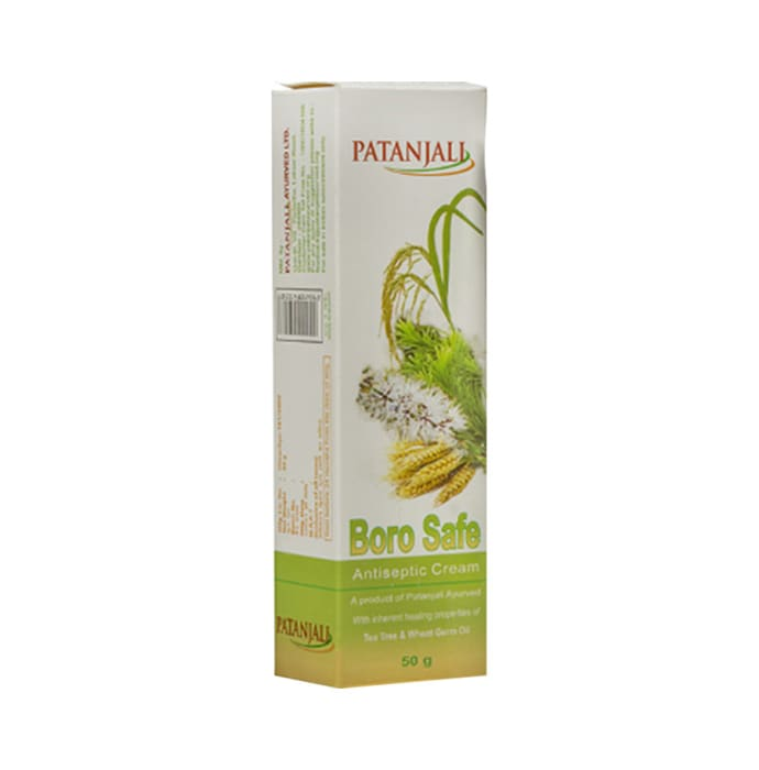 Patanjali Ayurveda Boro Safe Antiseptic Cream Pack of 10