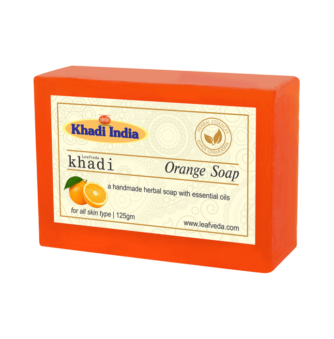 Khadi Leafveda Orange Soap Pack of 2