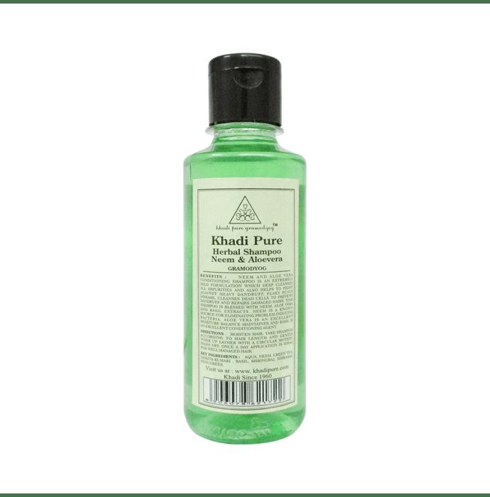 Khadi Pure Herbal Khadi Pure Herbal Neem & Aloevera Shampoo
