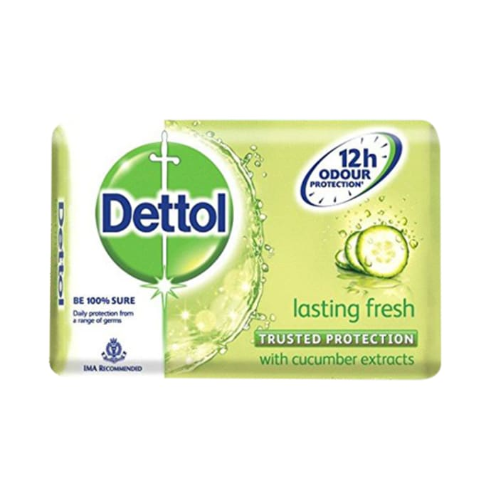 Dettol Lasting Fresh 125gm Soap