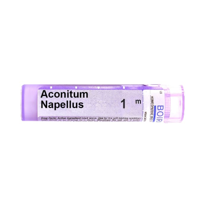 Boiron Aconitum Napellus Single Dose Approx 200 Microgranules 1000 CH