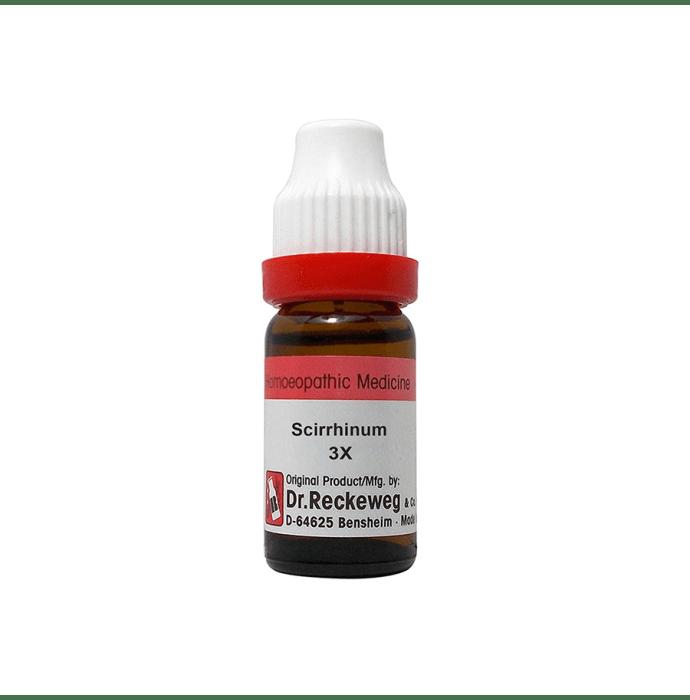 Dr. Reckeweg Scirrhinum Dilution 3X