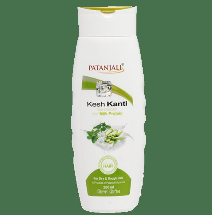 Patanjali Ayurveda Kesh Kanti Milk Protein Hair Cleanser Pack of 4