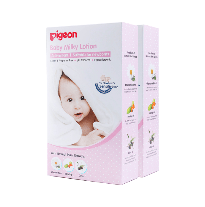 Pigeon Baby Milky Lotion Pack of 2