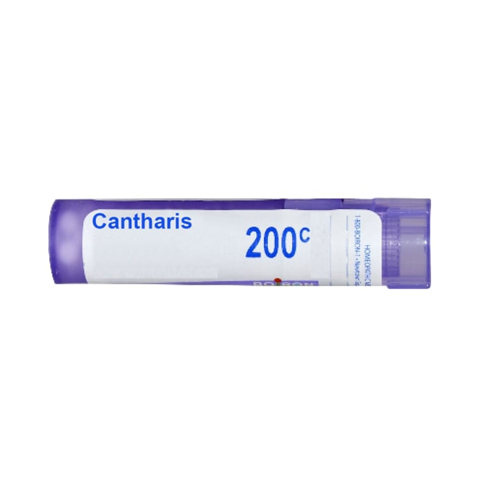 Boiron Cantharis Single Dose Approx 200 Microgranules 200 CH
