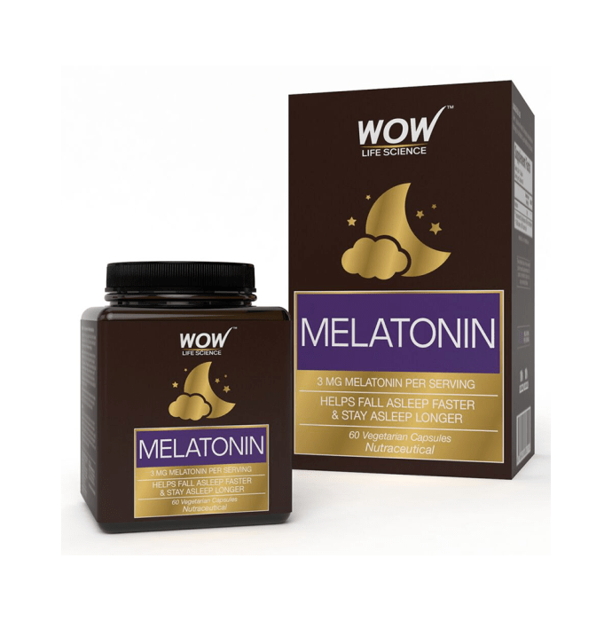 WOW Life Science Melatonin Vegetarian Capsule