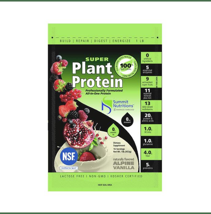 Summit Nutritions Organic Super Plant Protein Powder Vanilla