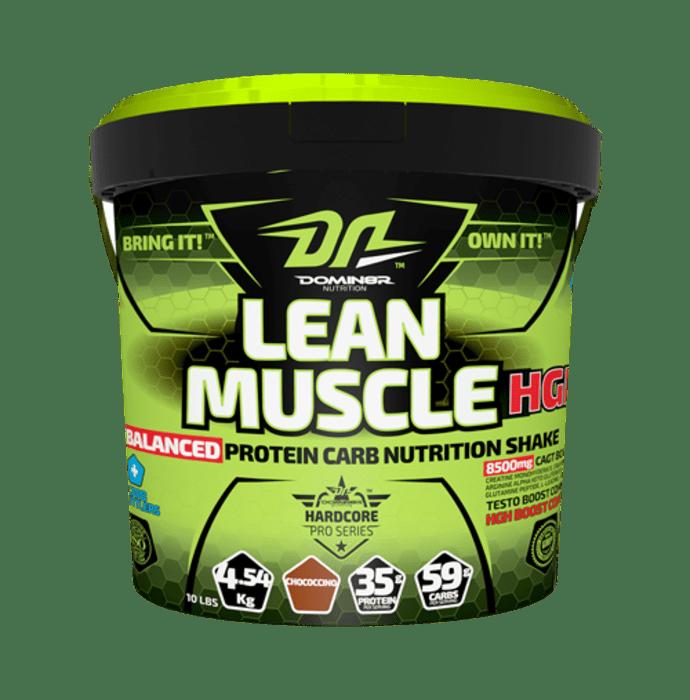DOMIN8R Lean Muscle HGH Powder Chococcino
