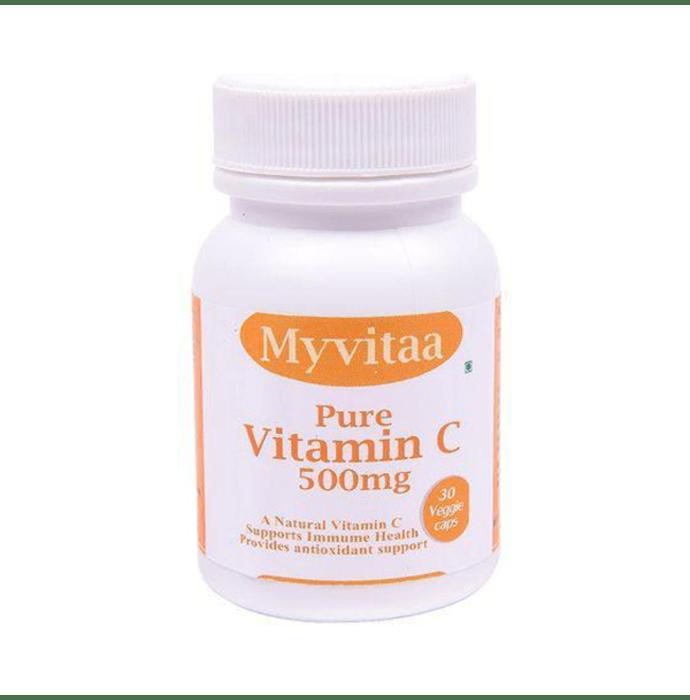 My Vitaa Pure Vitamin C 500mg Veggie Caps