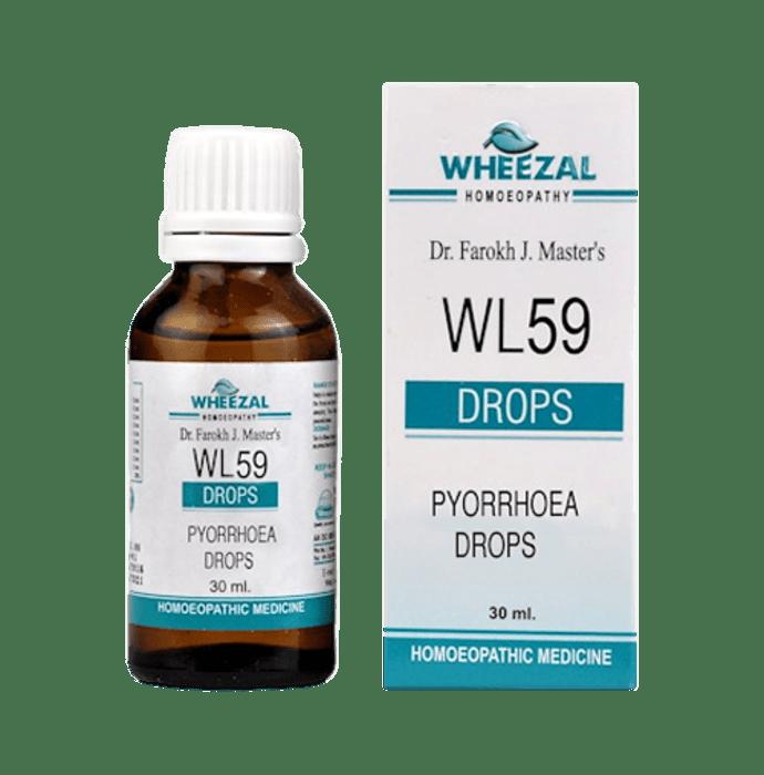 Wheezal WL59 Pyorrhoea Drop