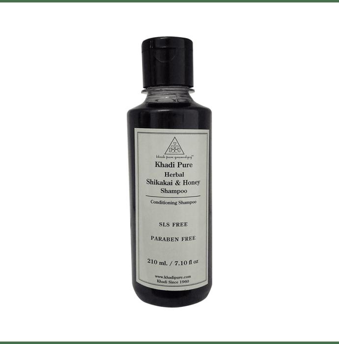 Khadi Pure Herbal Shikakai & Honey Shampoo SLS-Paraben Free