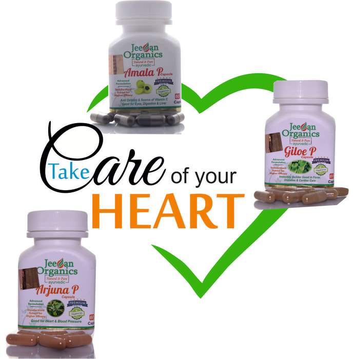 Jeevan Organics Heart Care Kit