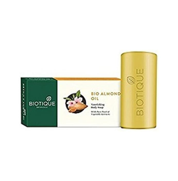 Biotique Almond Oil Nourishing Body  Soap Pack of 2