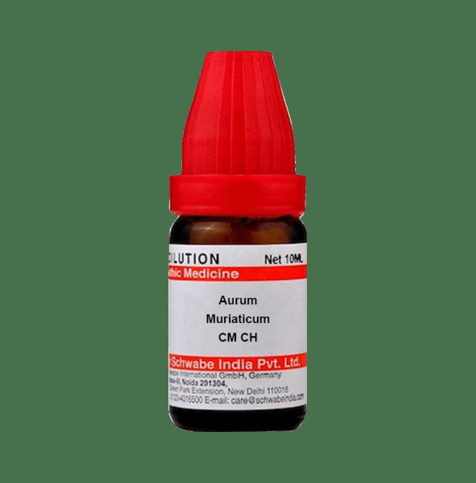 Dr Willmar Schwabe India Aurum Muriaticum Dilution CM CH