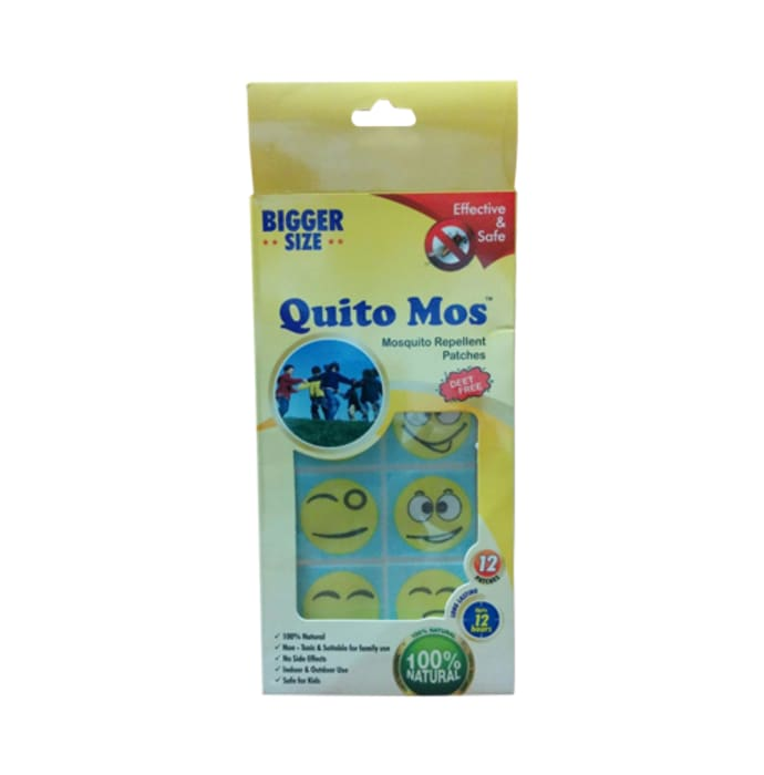 Quito Mos Mosquito Repellent Patch