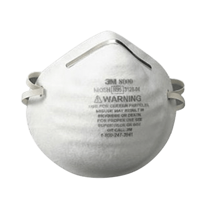3M N95 8000 Particle Respirator Mask Pack of 2