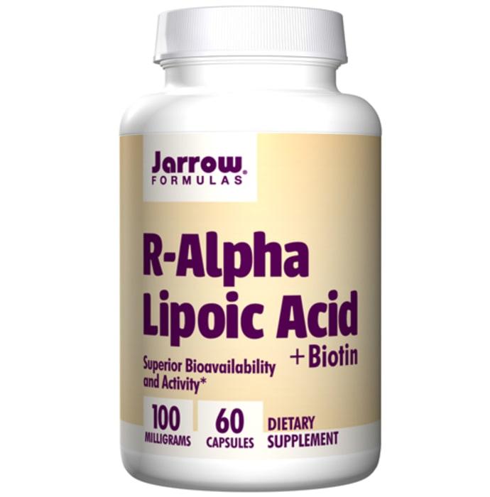 Jarrow Formulas R-Alpha Lipoic Acid+Biotin Capsule
