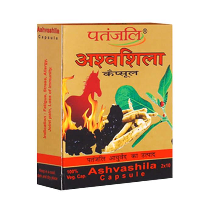 Patanjali Ayurveda Ashvashila Capsule Pack of 6