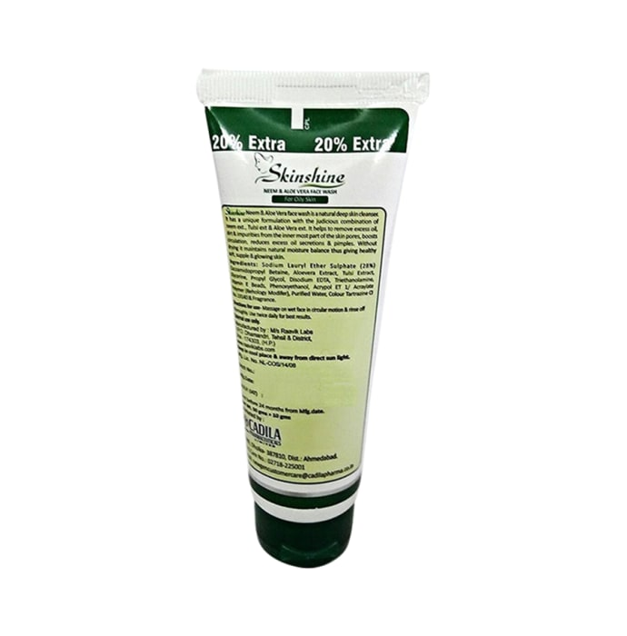 Skinshine Neem & Aloevera Face Wash Pack of 2