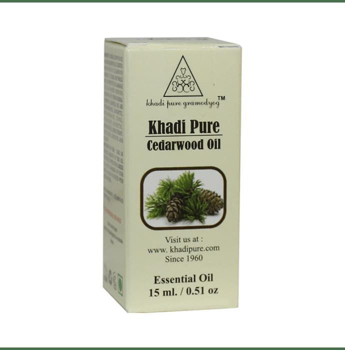 Khadi Pure Herbal Cedarwood Essential Oil