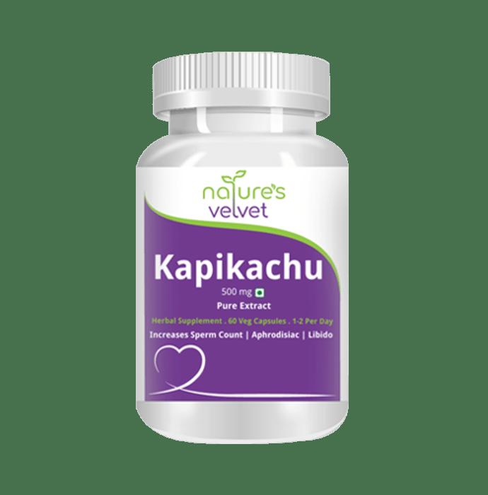 Natures Velvet Lifecare Kapikachu Pure Extract 500mg Capsule