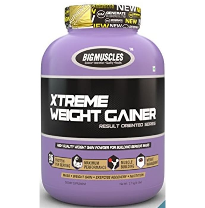 Bigmuscles Xtreme Weight Gainer Cookies & Cream